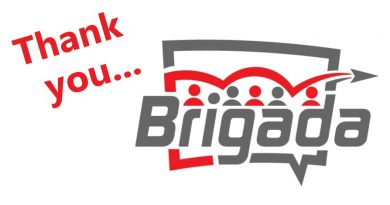 Thanks to Brigada!